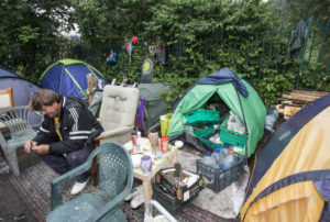 the best attitude 0c607 0afe4 Victory for Tent City homeless as judge slams Bristol City council   The  Land Is Ours